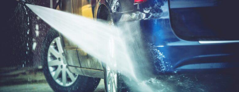 mycie auta na myjni samo-obługowej