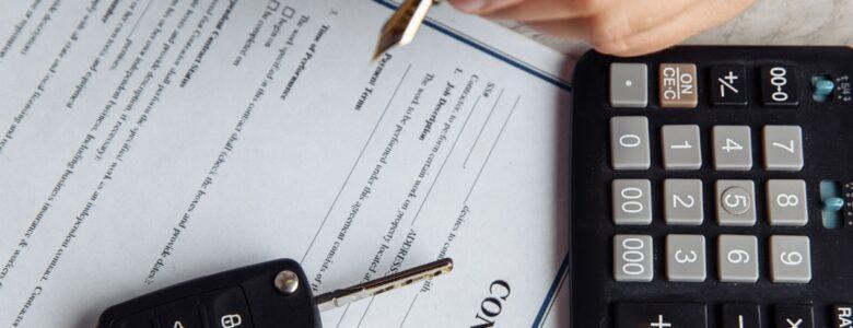 podpisywanie dokumentów związanych z autem